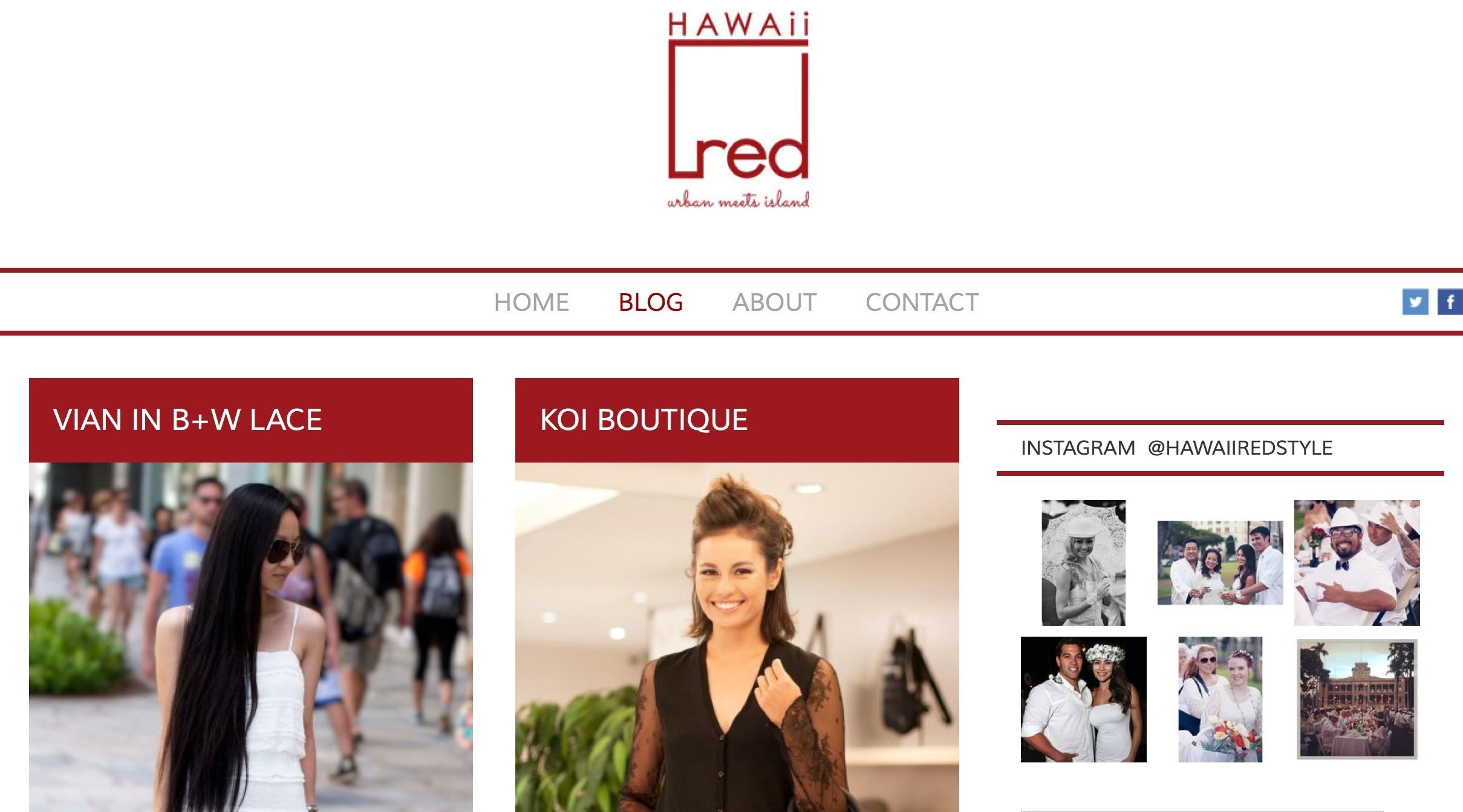 hawaii red blog