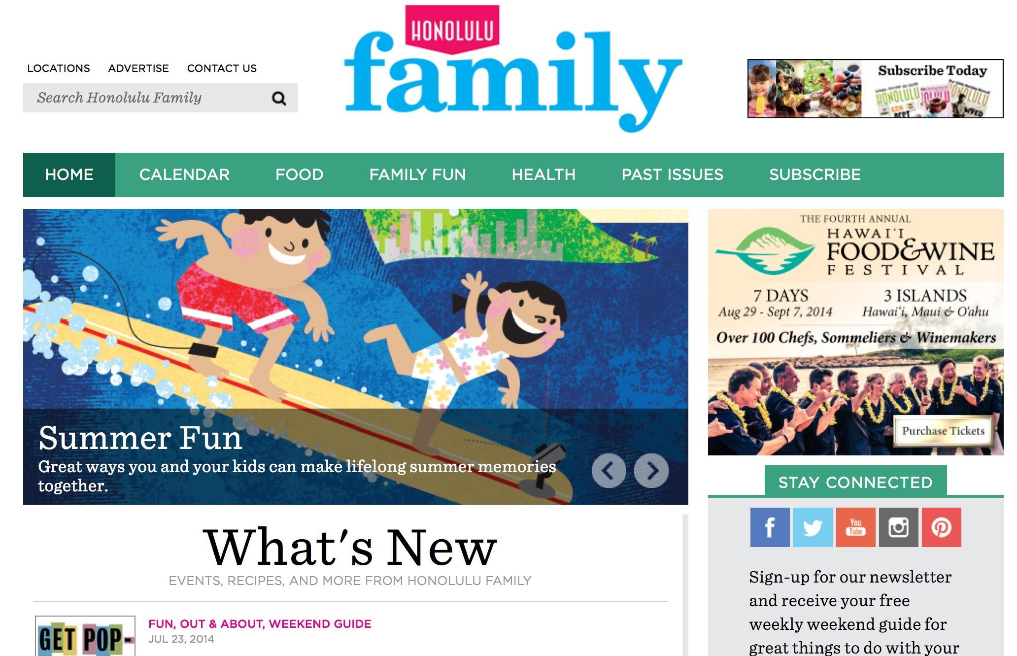 honolulu family blog