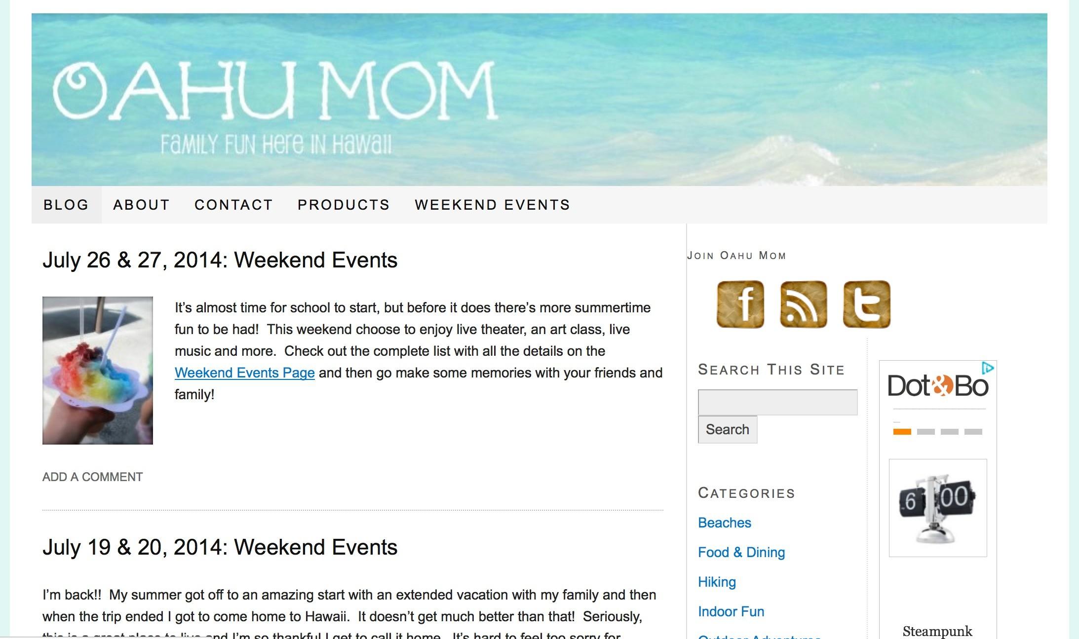 oahu mom blog