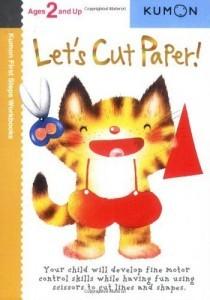 Kumon Lets cut paper