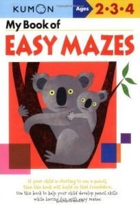 Kumon easy book of mazes