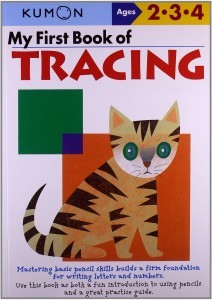 kumon tracing book