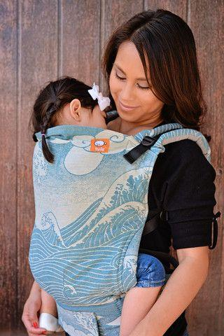 Photo Source: (http://www.tulababycarriers.com/products/toddler-size-half-wrap-conversion-tula-toddler-oscha-okinami-kai)