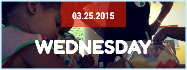 Wednesday Keiki Calendar 2015-03-25