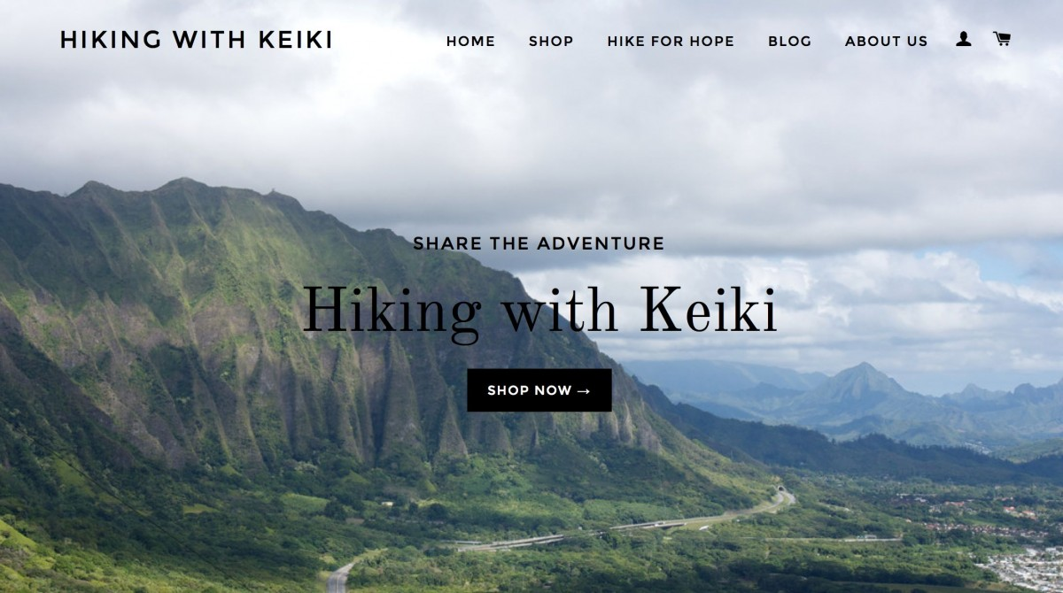 heiking with keiki screenshot