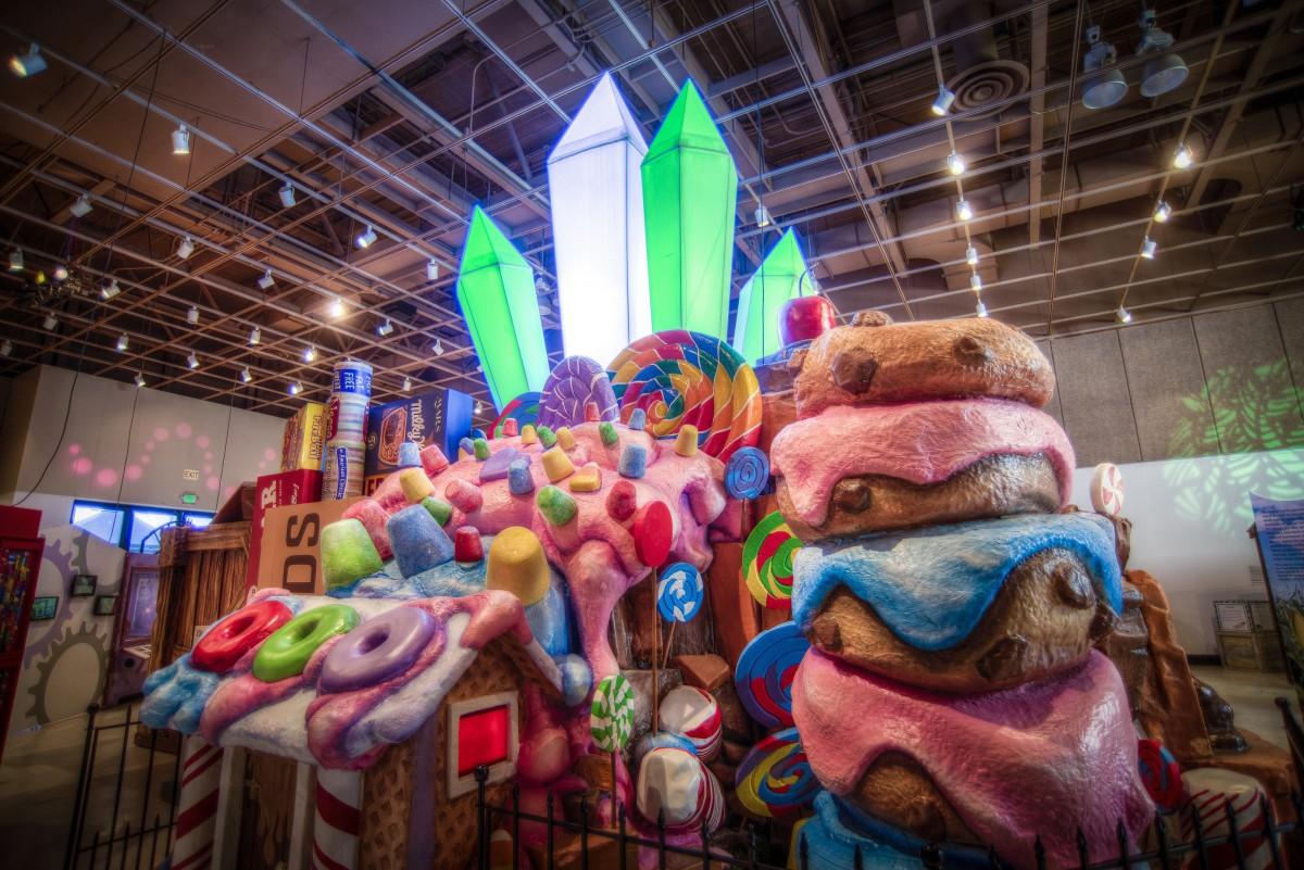 Bishop Museum Sweet Exhibit Rock Candy Mountain