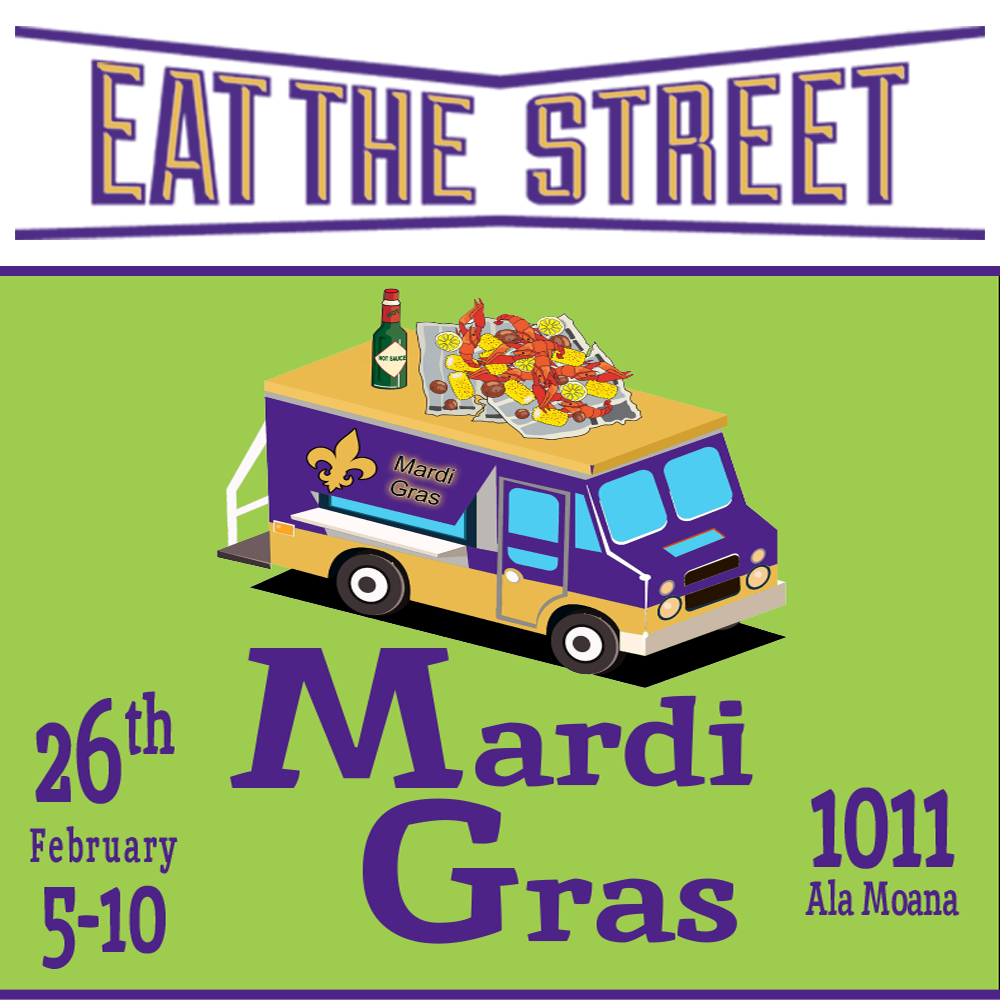 mardi gras eat the street