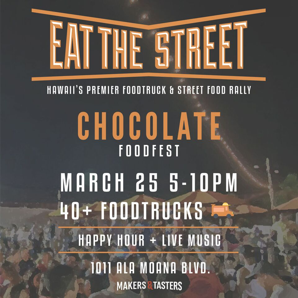 chocolate eat the street
