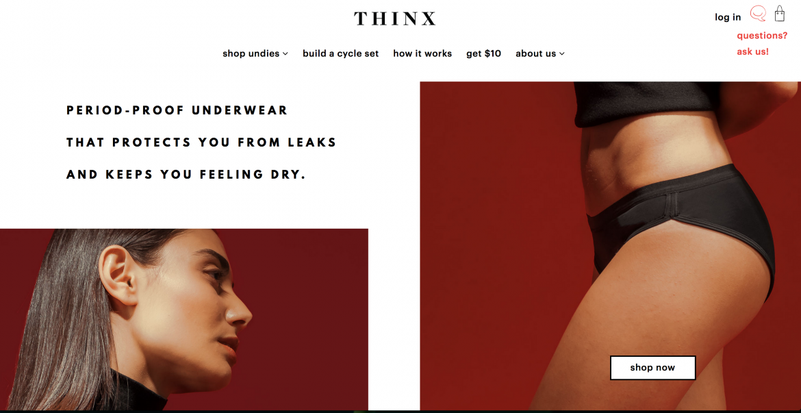 Thinx Review Screenshot